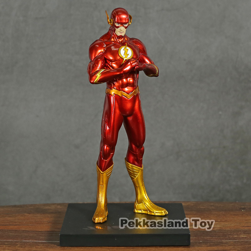 DC Comics The Flash ARTFX + STATUE 1/10 Scale Pre-Painted Figure Collectible Model Toy image