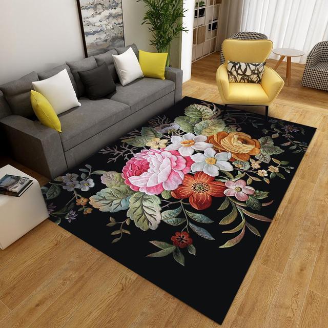Soft Floral Carpet Mawgie