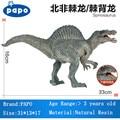 ПАПО Бренд Животных Игрушки Spinosaurus Модели Динозавров Парк Юрского Периода нетоксичный Моделирования Фигурки Lifelike Смолы Мальчиков Подарки