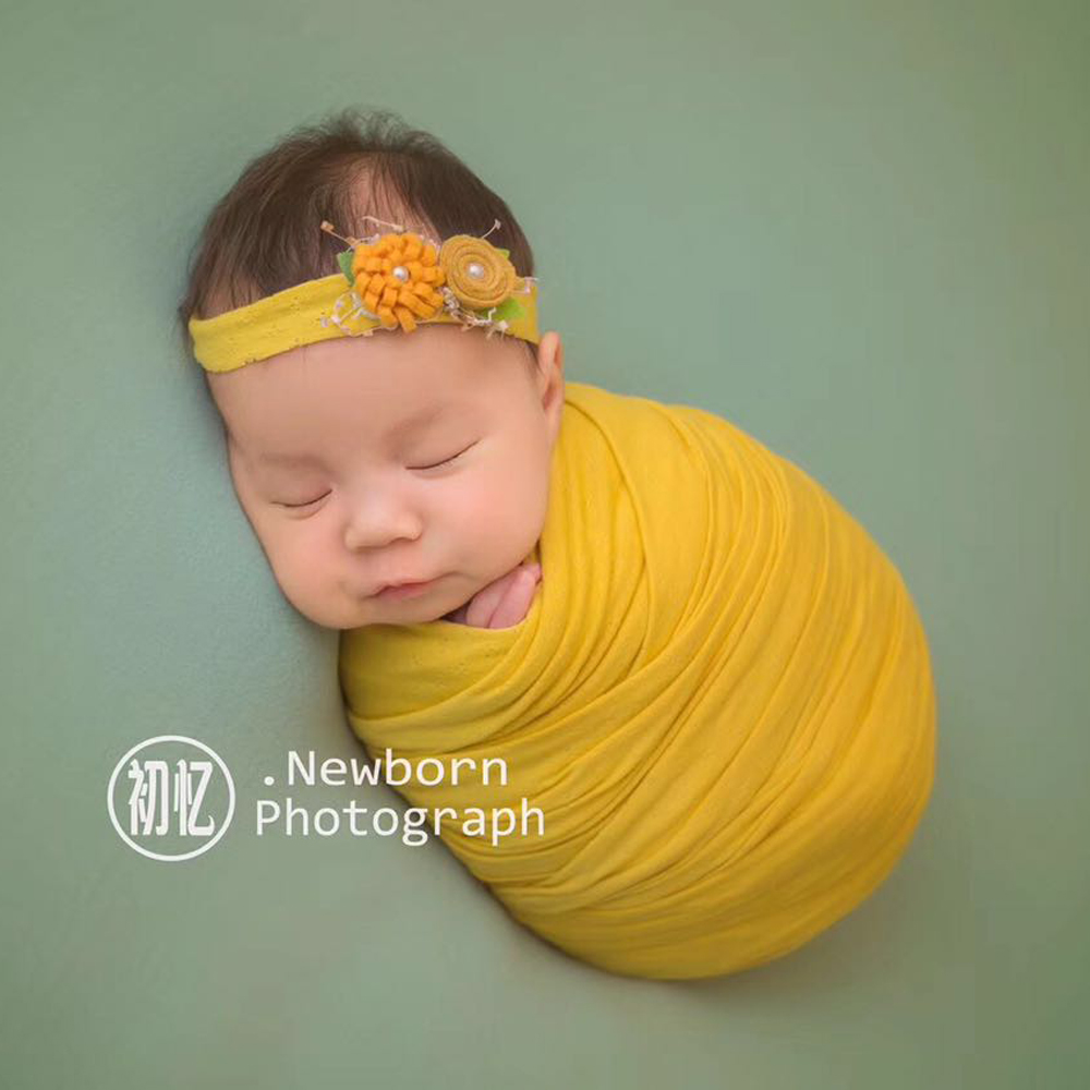 100 Cotton Wrap Newborn Photography Props Blanket Newborn Wraps