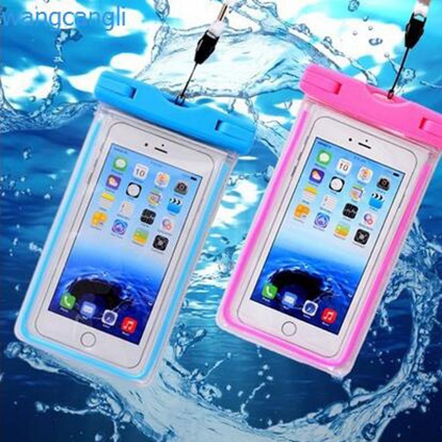 Cobertura Universal À Prova D' Água Caso de Telefone Para o iphone 7 6 S Coque bolsa Caso Saco Impermeável Para Samsung Galaxy S8 Nadar À Prova D' Água caso