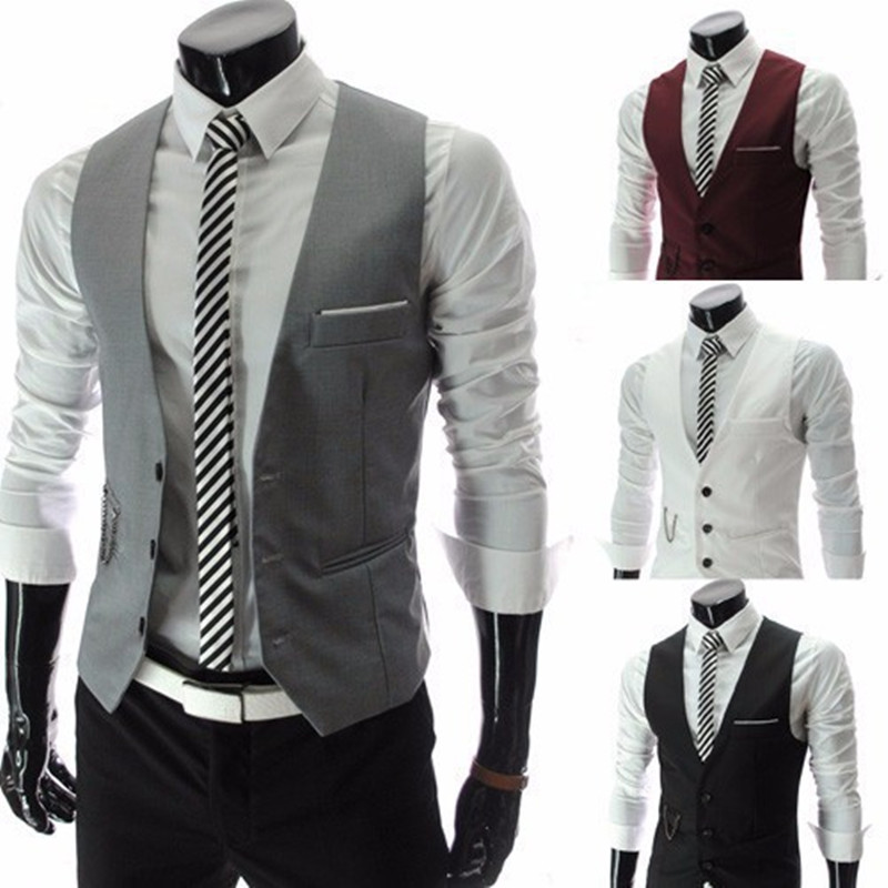 Online Get Cheap Black Suit Vest for Men -Aliexpress.com | Alibaba