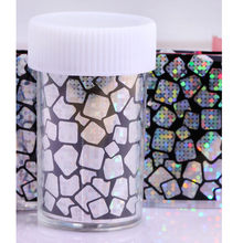 1 Pcs 100*4cm Fashion Nail Art Foil Transfer Stickers Nail Decal Design Flower Decoration Nails holographic Wraps Tool #2(China)