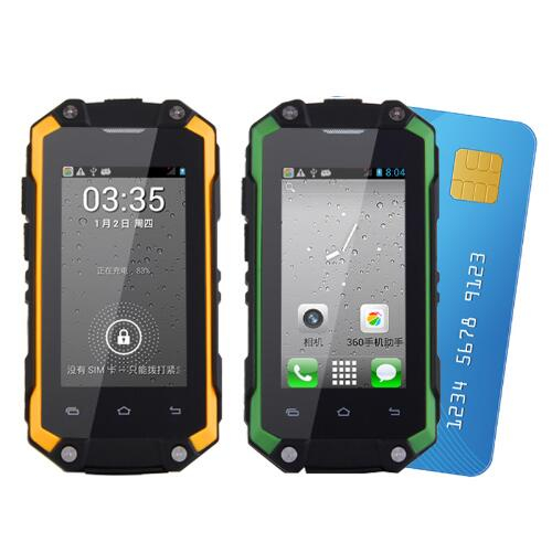 Mafam J5 + dual sim Водонепроницаемый Android 5.1 Play Store Встроенная память 8 г Оперативная память 1 г мини-смартфон WI-FI WCDMA 3 г прочный телефон