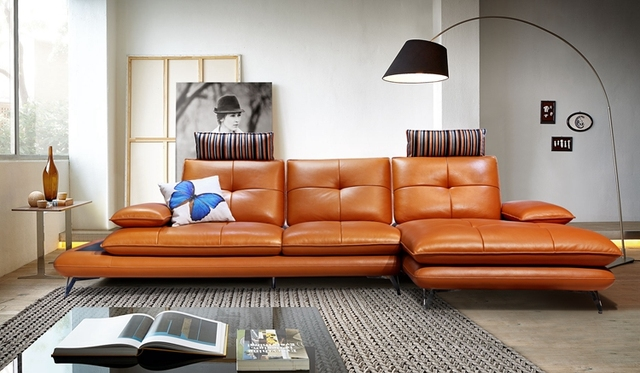 Deluxe Leather Recliner Sofa 3