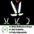 Vestuário reflector Chaleco Reflectante 360 Graus de Alta Visibilidade Colete Refletivo de Segurança Neon Cinto de Corrida Ciclo Esporte Ao Ar Livre