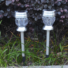 Solar Light Ground Lamp Security Home 4 Pcs Light-Controlled Durable Disk Lights Eco-Friendly Outdoor