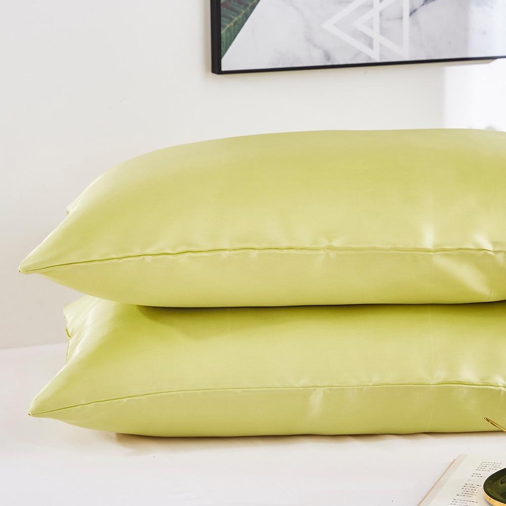 Pillow Covers Silk Satin Pillowcase 100lichnyi Ru