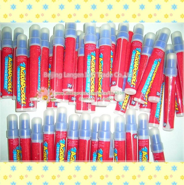 hotest Promotion/Free shipping 20pis/lots pen  American Aquadoodle Aqua Doodle  Magic Pen/Water Drawing Replacement