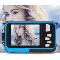 24MP Dual LCD Screen HD Compact Digital Camera 16x Zoom Video Camcorder Mini Cameras Camera