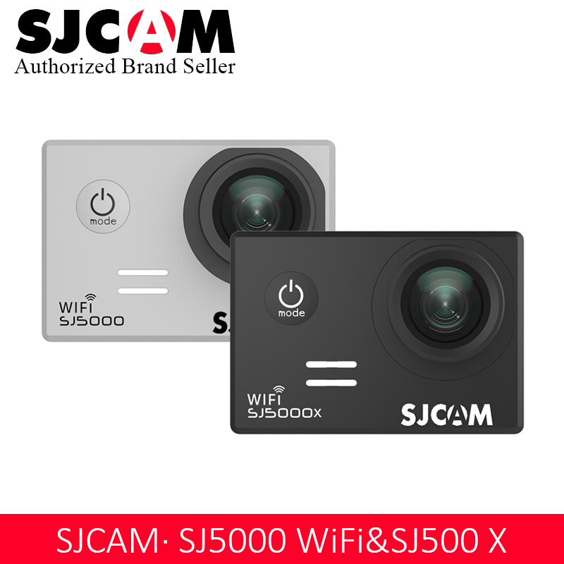 SJCAM SJ5000 Série SJ5000 WIFI & SJ5000X Elite 1080 p 4 k Gyro WIFI Action Camera 2.0 LCD Étanche sport DV