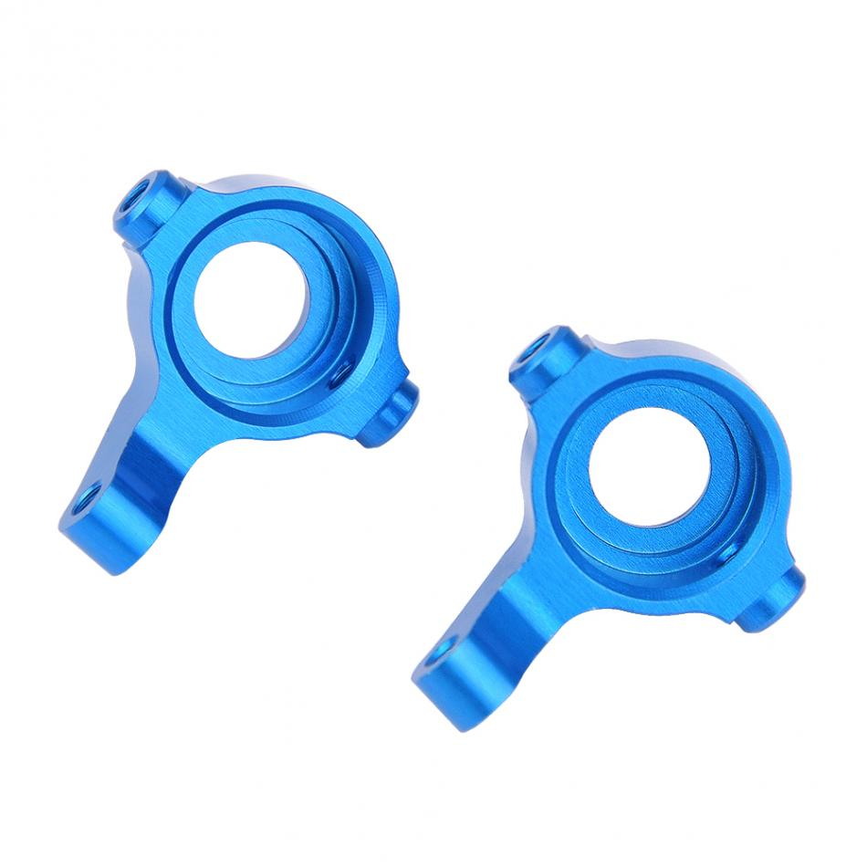 2PCS/Set Aluminum Alloy Steering Hub for WLtoys A959 A969 A979 K929 RC Car Accessory Updated Spare Parts Steering Hub alloy aluminum steering servo saver complete for rc 1 18 wltoys a959 a969 a979 k929 factory price stylish upgraded hop up parts