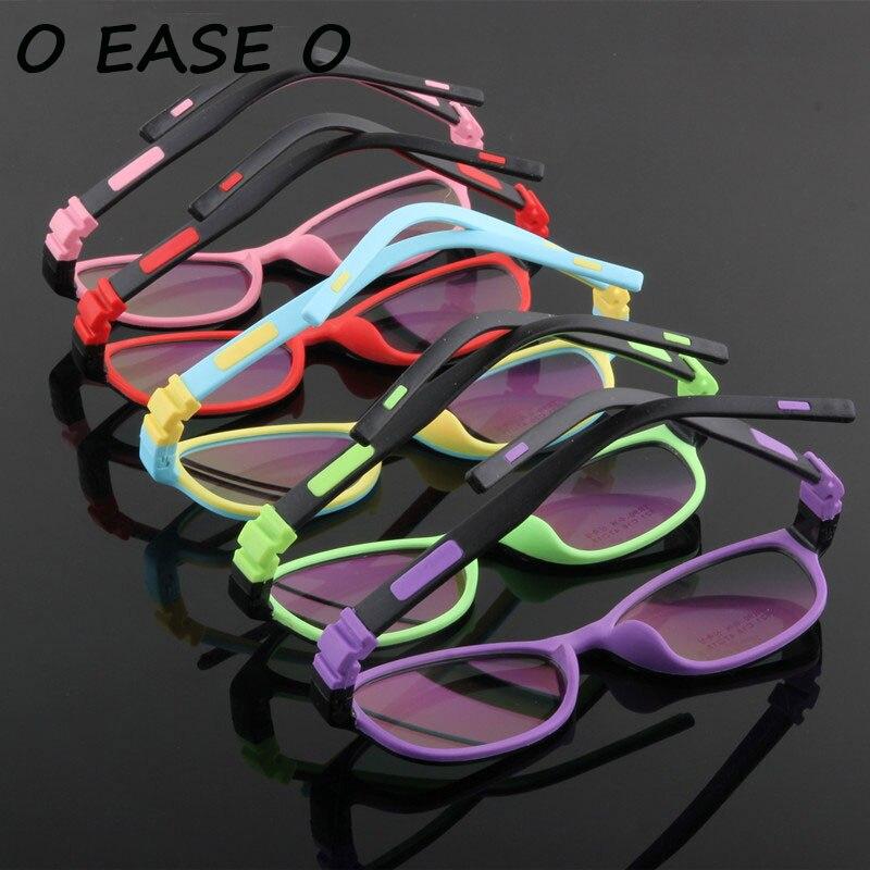 2017 Stylish Kids Eyewear Children Optical Frame Brand Design Kids Cute baby Student Safe Healthy Non-toxic Glasses Frames 521