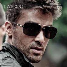 Caponi Men Square Avaitor Polarized Sunglasses Driving For D