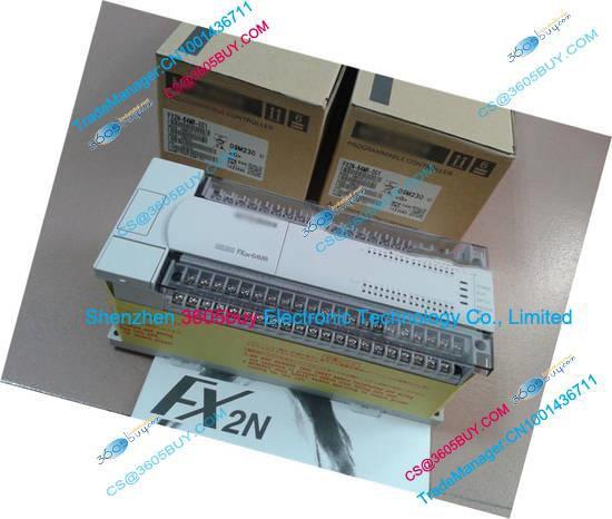 New Original FX2N-16MR-001 PLC Main Unit DI 8 DO 8 Relay AC 220V