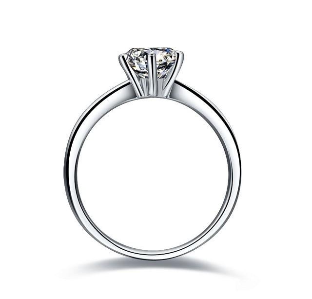 1 قيراط بريليانت جولة قص sona الاصطناعية الماس الاشتباك الدائري ستة مخلب كوريا الجنوبية نمط أذهل مجوهرات هدية للأم-في خواتم خطوبة من الإكسسوارات والجواهر على  مجموعة 3