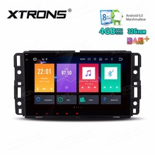 8″Octa-Core Android 6.0 OS 4G+32G Car Multimedia GPS Radio for Chevrolet Suburban 2007-2014&Tahoe 2007-2014 & Traverse 2009-2012