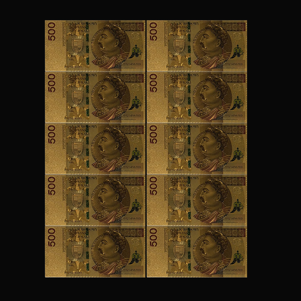 Banknote BILLS FAST SHIP IN U.S! 5Pc.SET~GOLD $100,000,$10000,$5000,$1000,$500
