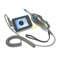 Grandway Original FIM-5 Sonda De Inspeção De Fibra Óptica De Vídeo e Exibição Microscópio 400X Com Dicas