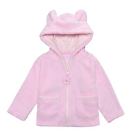 Newbron Baby Winter Clothes Coat Jacket Kids Toddler Boy Girl Clothing Plush Cute Animal Bear Outerwear