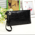 Ms. Clutch clutch bag women's casual crocodile clutch bag purse mobile phone makeup bag