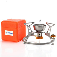 Outdoor Camping furnace Head portable hot pot Grill Picnic Cooker oud burner white color stove  propane gas цена