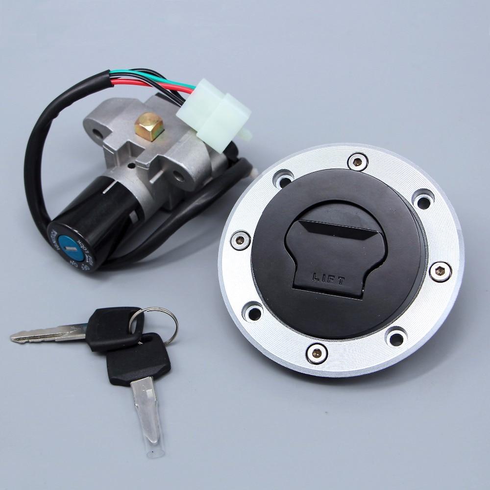 New Ignition Switch Gas Cap Cover Seat Lock Key Set Fits  Suzuki RF400/600/900 GK78 GSF400/600 RGV125/250 GSX250/400/500 GT250