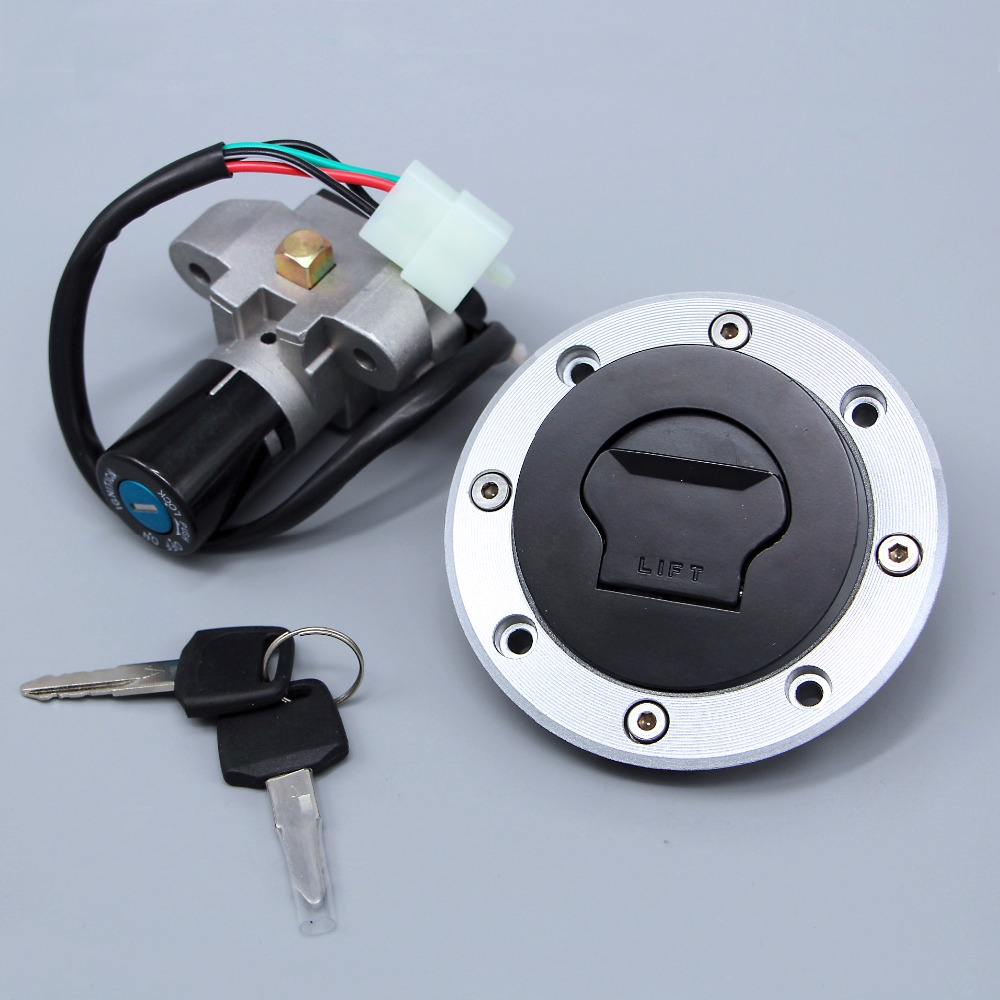 New Ignition Switch Gas Cap Cover Seat Lock Key Set Fits Suzuki RF400/600 RF900 GK78 GSF400/600 RGV125/250 GSX250 GSX400 GS500