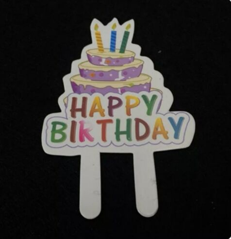 50pcs Birthday cake row decoration Cake Toppers Party Supplies Cupcake Tutu Cake Table Birthday Party Cake Decorations Kids chil in Cake Decorating Supplies from Home Garden