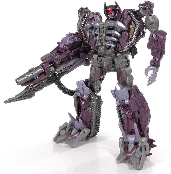 Voyager Class Movie Shockwave Action Figure Classic toys for boys Without Retail Box 37 cm tyrannosaurus rex with platform dinosaur mouth can open and close classic toys for boys animal model without retail box