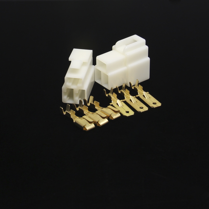 50 sets 6,3mm 3Way Elektrische automotive kabelverbinder Kits ...