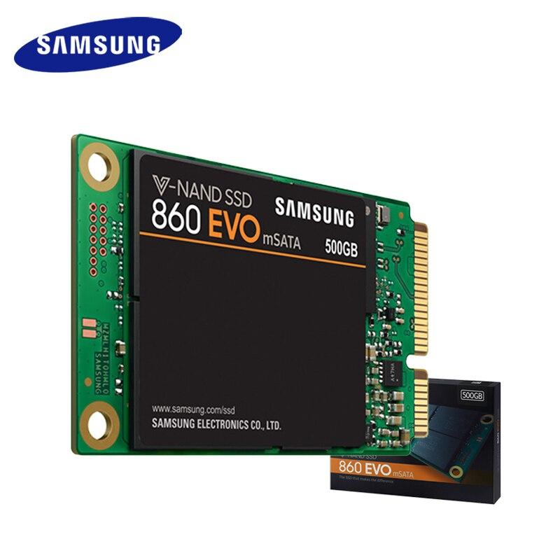 Samsung MSATA interne SSD 860 EVO 250GB 500GB 1 to disque dur HDD dur haute vitesse pour ordinateur portable PC ordinateur de bureau