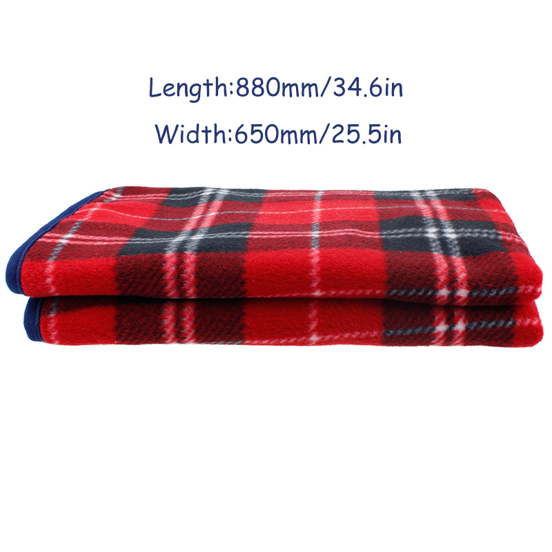Baby Electric Warming Heating Blanket New 5V 88*65cm Car Home Pad Mobile Heating USB Soft Winter Keep Warm Health
