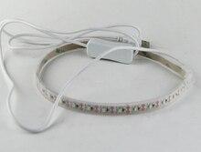 Universal Bläser USB Verbinden FÜHRTE Lampe Überprüfen Lecksuche Reparatur Lightrepair Für Saxophon Klarinette Flöte Musikinstrumente