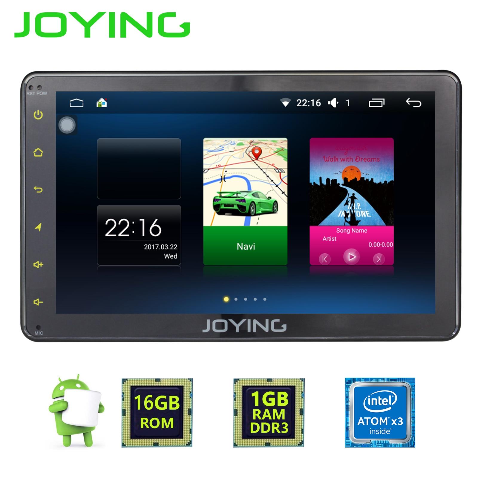 JOYING 1 GB di RAM Android 6.0 Auto Autoradio 1 Singolo DIN 7 ''Unità di Testa HD Multimedia Stereo Auto Radio lettore Bluetooth FM WIFI DVR