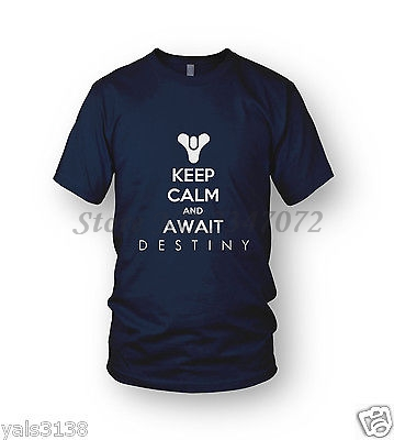keep-calm-and-await-destiny-tee-mens-xbox-one-ps4-beta-fontbvideogame-b-font-free-shipping