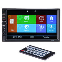 Hot 2 Din 12V Car Video Player Bluetooth Stereo Radio FM MP4 MP5 Audio USB AUX Multimedia Auto Electronics autoradio Rear View