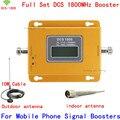 LCD! DCS 1800 Mhz Teléfono Móvil Amplificador de Señal, 4G GSM 1800 Repetidor de Señal DCS, Amplificador de Teléfono celular con Cable + Antenna