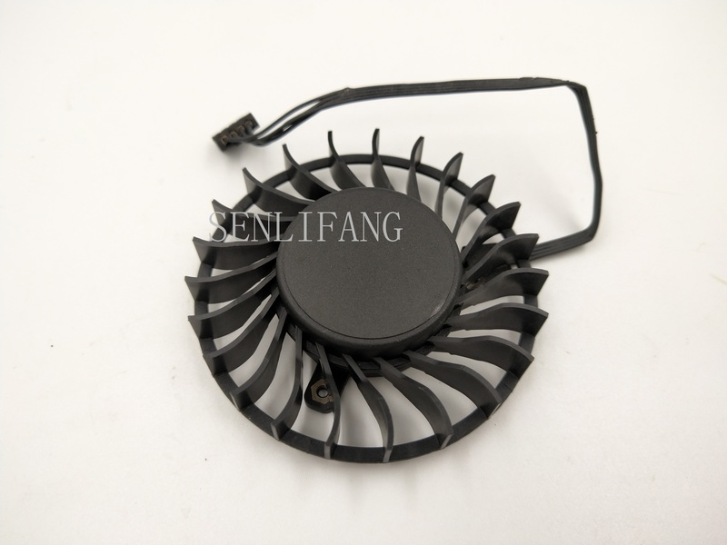 Free Shipping  BAZA0714B2U QUADRO P4000 M4000 12V 0.6A Four-wire Graphics Card Fan