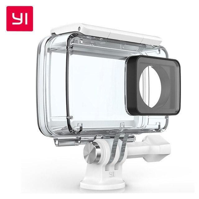 YI Водонепроницаемый Корпус Камеры для YI xiaoyi xiaomi Действий Камеры 4 К Действий Камеры 2 Международное Издание