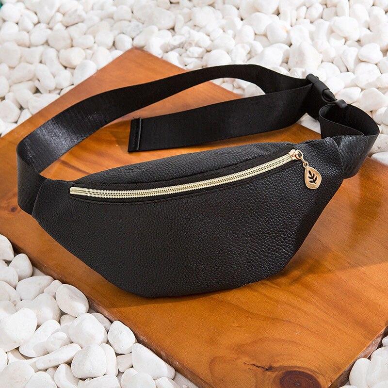 New Fashion Women Waist Fanny Pack Belt Bag Travel Hip Bum Bag Small Purse Chest Pouch Bolsa Feminina