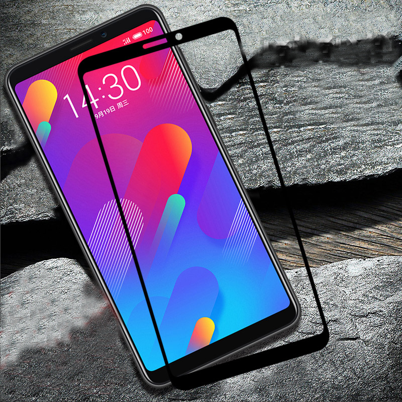 2.5D 9H Screen Protector For Meizu M8 Full Coverage Tempered Glass For Meizu M8 Lite Protective Glass For Meizu M8 Lite