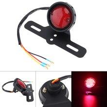 Motorcycle Retro Warning Signal Light 3 Line Red Flashing LED Rear Brake Stop Car for Lamp hot sale