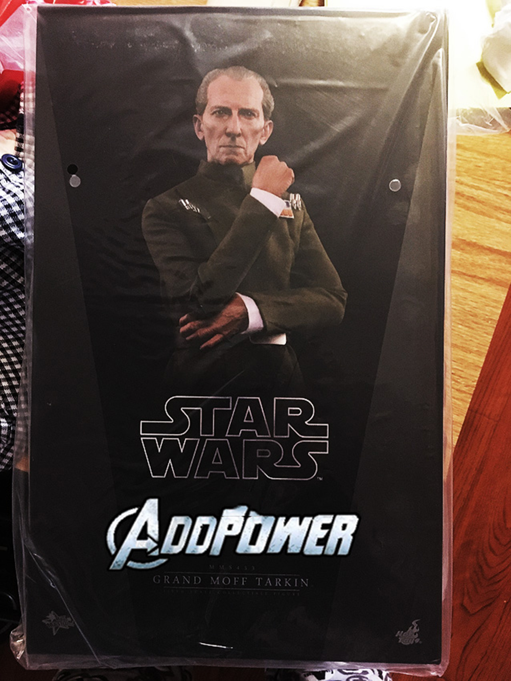 Full set Colletible 1/6 Scale Star Wars: Episode IV - A New Hope Grand Moff Tarkin Peter Cushing Figure Model Toys 5