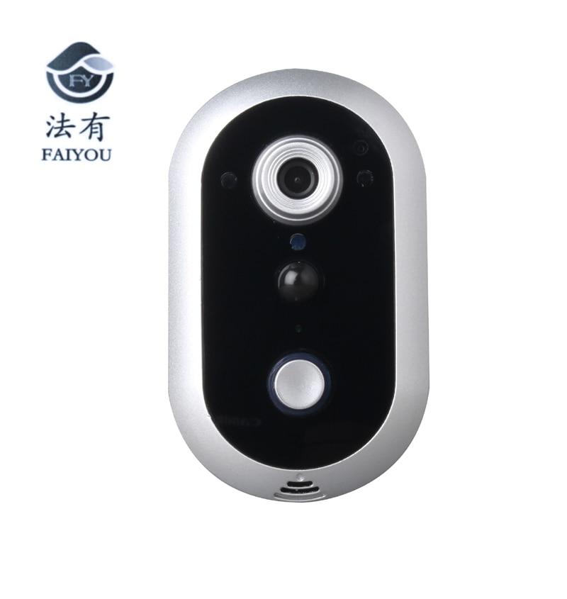 Z-BEN Hot Wireless WIFI Doorbell Video Door Bell Phone Security Surveillance Door Camera Monitor Viewer Support IOS Android Ipad цена