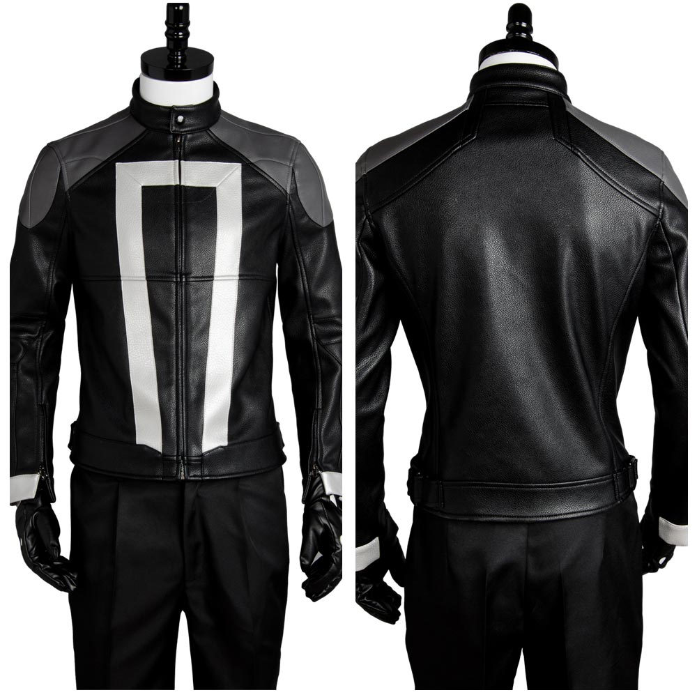Agents of Shield S.H.I.E.L.D Ghost Rider Jacket Sexy Costume Halloween Carnival For Men Women