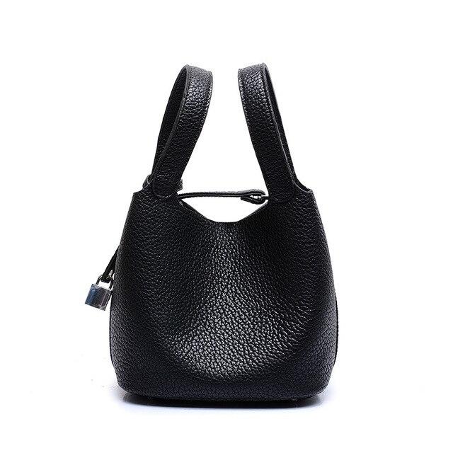 Basket Type Genuine Leather Bag Bucket Dollar Price Designer Handbags High Quality Luxury Women