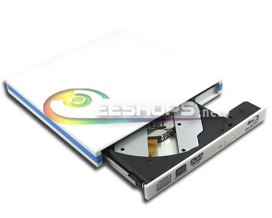 Gaming Laptop USB 3.0 External Blu-ray Drive for Dell Inspiron 15R 15 7537 N4110 6X 3D Bluray Player 8X DVD RW DL Burner Case