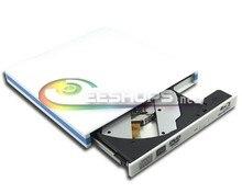 Gaming Laptop USB 3.0 External Blu-ray Drive for Dell Inspiron 15R 15 7537 N4110 6X 3D Bluray Player 8X DVD RW DL Burner Case