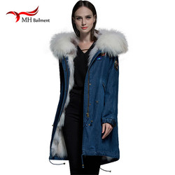 New arrival winter camouflage parka with real rex rabbit fur lining trim and natural fox fur.jpg 250x250